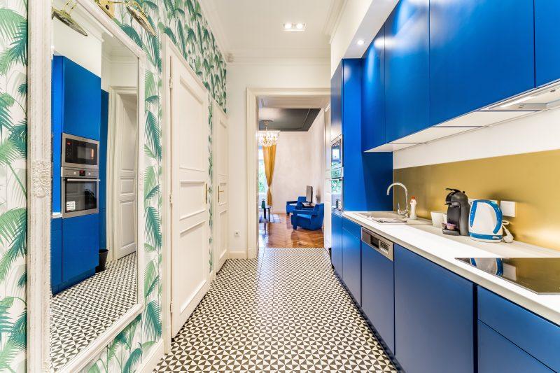 deco cuisine bleu