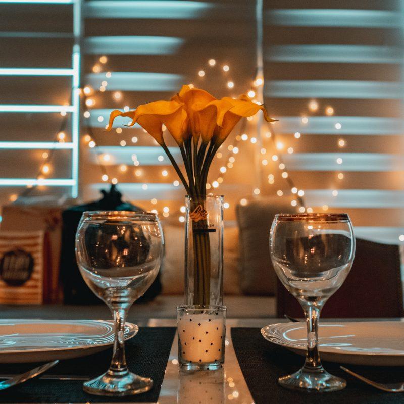 deco table saint valentin