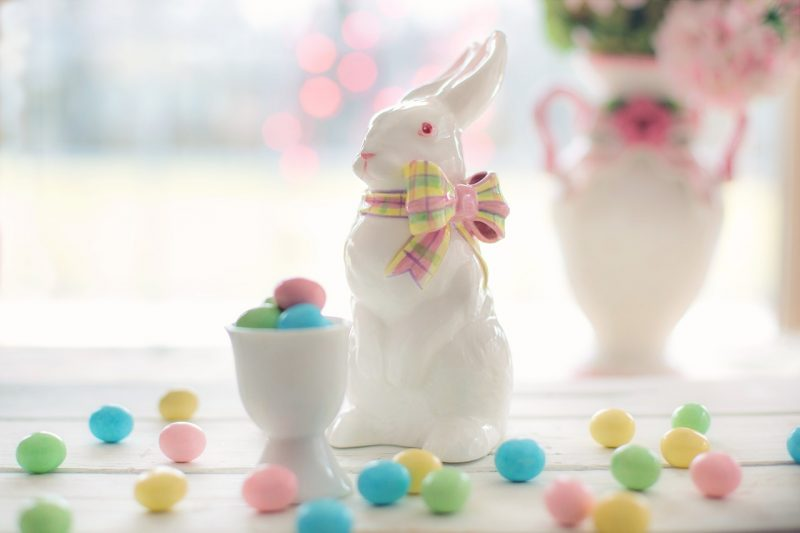 idee deco paques lapin