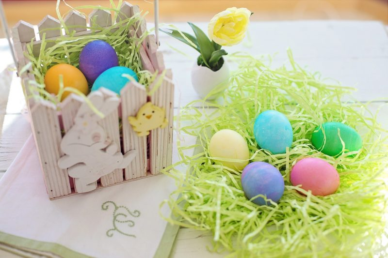 Une belle déco de table pour Pâques !