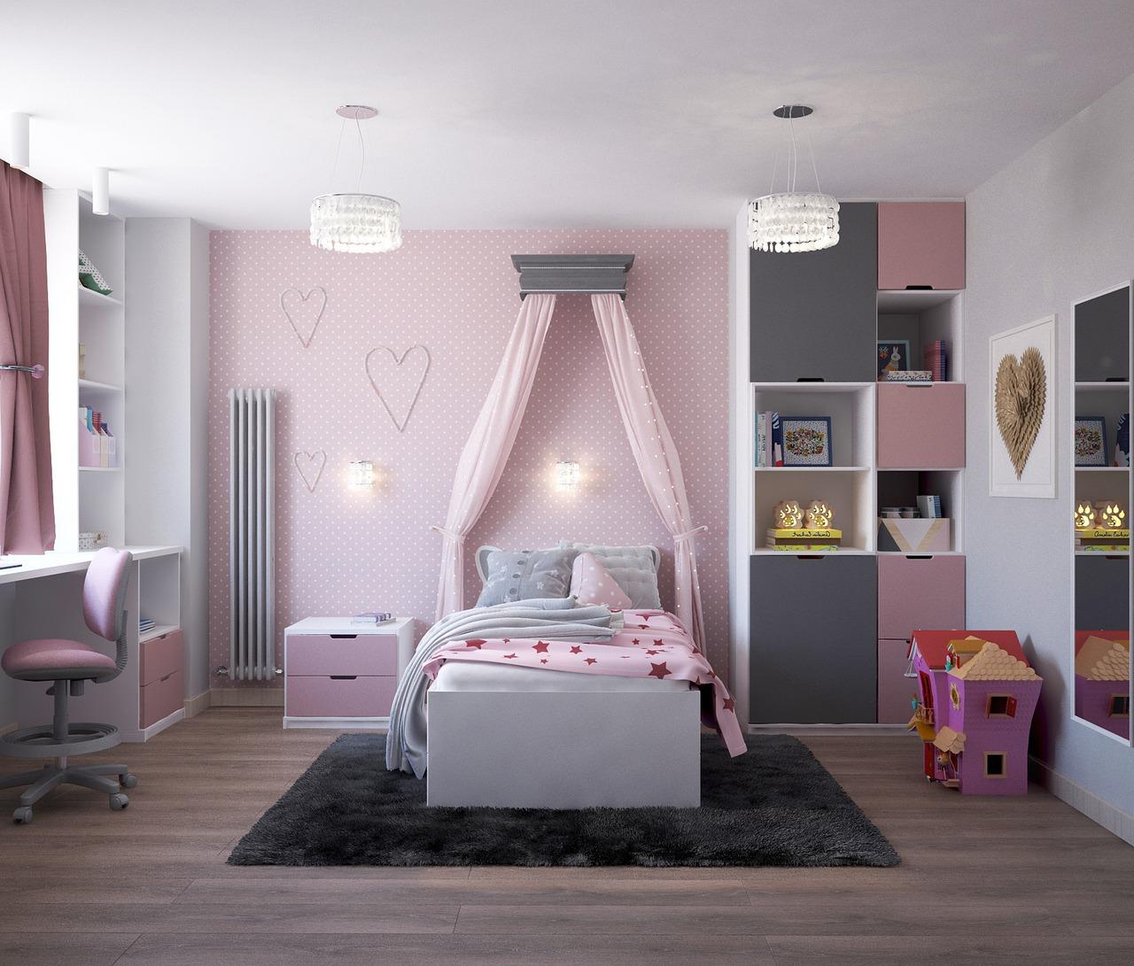 chambre enfant rangement