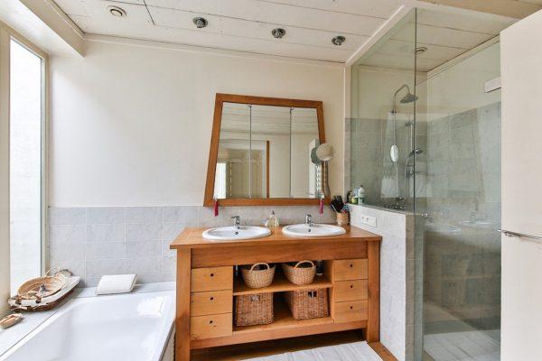 Salle de bain rustique : 50 idées déco de salle de bain bois