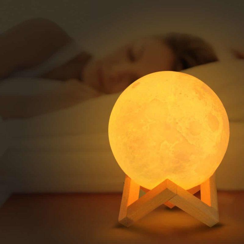 lampe lune chambre